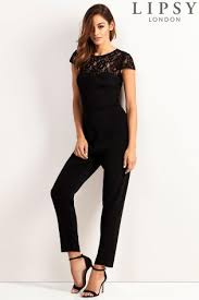 buy jumpsuit buy s jumpsuits and playsuits jumpsuit black lace from the