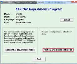 cara download resetter epson l1300 download driver resetter epson l1300 dan cara pakainya indah