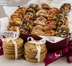 food baskets delivered dulcet gift baskets sweet success gourmet cookie and