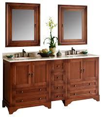Bathroom Vanity Solid Wood by Ronbow Milano Solid Wood 72