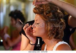 Makeup Artist On Long Island Backstage Makeup Stock Photos U0026 Backstage Makeup Stock Images Alamy