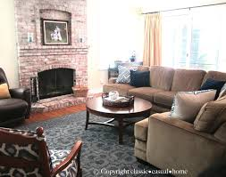 subtle ways to refresh a family room before and after classic subtle ways to refresh a family room before and after