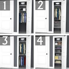 6 foot closet organizer 12 shop rubbermaid homefree series ft to