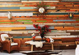 wood pieces for walls before after salvaged wood wall design sponge