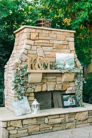 Outdoor Fireplace Best 25 Wedding Fireplace Decorations Ideas On Pinterest