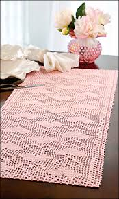 Crochet Table Runner Pattern Ravelry Hearts A Plenty Table Runner Pattern By Joyce Geisler