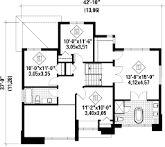 contemporary style house plan 4 beds 2 00 baths 1890 sq ft plan