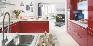Deco Salon Et Cuisine Ouverte by Indogate Com Idees De Cuisine Moderne En Forme U