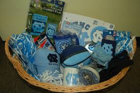 carolina gift baskets born bred ed out of the blue
