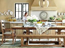 Pottery Barn Dining Room Furniture Dining Room Table Pottery Barn Kgmcharters