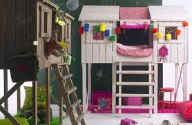 Ana White Bunk Bed Plans by Treehouse Loft Bed Bunk Bed Playhouse Style Loft Bed With