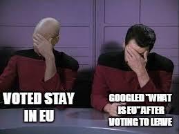 Double Facepalm Meme - star trek double facepalm memes imgflip
