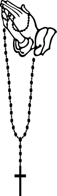 free rosary best free prayer clipart praying rosary cdr