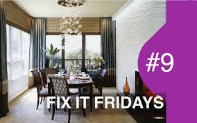 interior design wow dining room fix it fridays ep 9 youtube