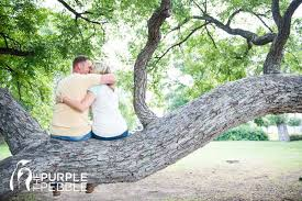 fort worth photographers engagement photography park the purple pebble