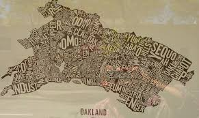 Oakland Map Oakland Musings On Maps