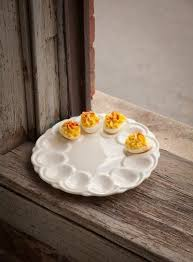 ceramic deviled egg plate ceramic deviled egg plate egg holders cups trays etc