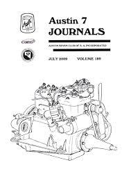 journal 2009 july austin 7 club sa inc