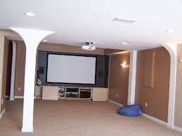 Basement Media Room Finished Basement Media Room Design Build And Consulting