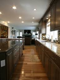 kitchen design magnificent one wall kitchen smart design