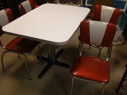 Retro Kitchen Table Sets 1950 U0027s Retro Kitchen Table Chairs Bringing Back Classic New York