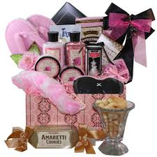 bathroom gift basket ideas dressed to impress spa bath and body set with gourmet cookies and
