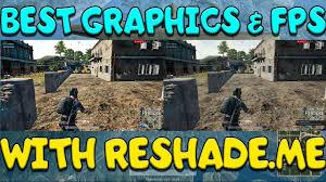 pubg graphics settings pubg best graphics fps tutorial w reshades youtube