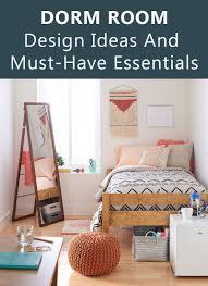 dorm room design must have essentials decor ideas contemporist