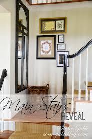 staircase wall decor 5 big decor makeovers of 2013 stonegable