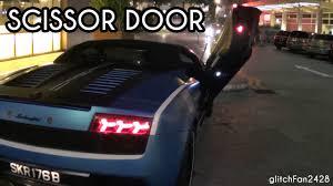 Lamborghini Gallardo With Butterfly Doors - scissor door lamborghini gallardo lp560 spyder w kreissieg