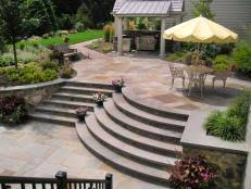 Brick Patio Design Ideas Brick Paver Patios Hgtv