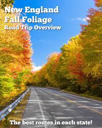 england fall foliage road trip u2013 routes
