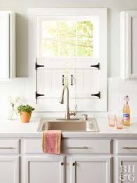 Kitchen Window Shutters Interior Diy Shutters Diy Shutters Bed Slats And Vintage