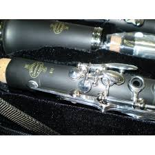 Buffet B12 Student Clarinet by Buffet B12 Bb Clarinet Silver Plated Keys From The Music Cellar