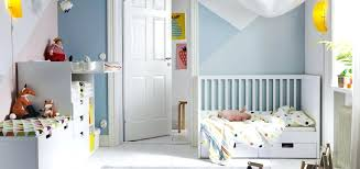 baby room furniture ikea a bedroom furnished with a white cot with