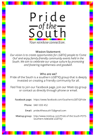 Join Our Facebook Page Lgbtiq Bi Trans Social Events Adelaide