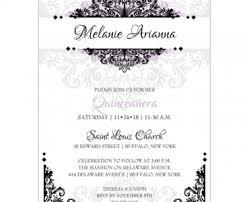 quinceanera invitations in spanish quinceanera invitations in