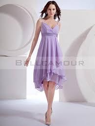 robe violette mariage demoiselle d honneur courte violette bretelles a ligne
