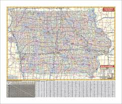 map of iowa towns iowa wall maps national geographic maps map quest rand mcnally