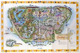 New Orleans Hotel Map by Disneyland U0027s Evolution Through Maps Design U0026 Architecture