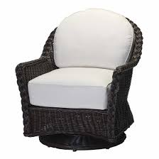 Swivel Wicker Patio Chairs by Sedona Large Outdoor Swivel Glider