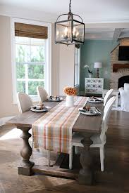 buffalo plaid table runner southern curls pearls fall decorating ideas house updates