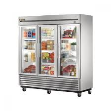refrigerators with glass doors true t 72g ld 3 door bottom mount reach in refrigerator 72 cu ft