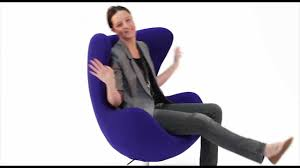 replica arne jacobsen egg chair from matt blatt youtube