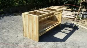 fabriquer cuisine exterieure fabriquer cuisine extérieure en bois lsmydesign com