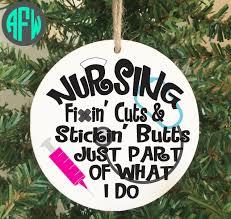 nurse ornament nursing nurse appreciation christmas ornament