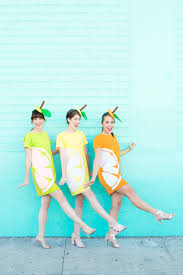 fruit halloween costumes for kids diy citrus slice costumes studio diy
