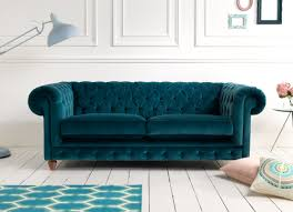 Chesterfield Sofa Uk by Teal Leather Sofa Uk Best Home Furniture Decoration