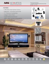 Sj Home Interiors Nrg Acoustics Sj 331 Home Theater System Nrg Acoustics