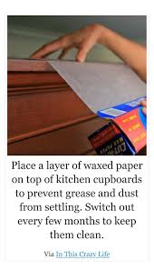 how to clean varnished cupboards keep dust and grease away from cupboards clean kitchen